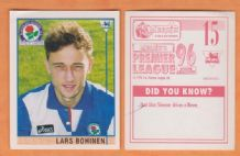 Blackburn Rovers Lars Bohinen Norway 15